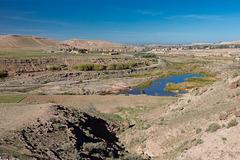 Morocco - Tameslouht - Tensift wadi