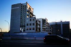 HFF vom Abriss der City Hochhäuser ! (PiP)