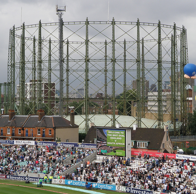 The Brit Oval Gasometer