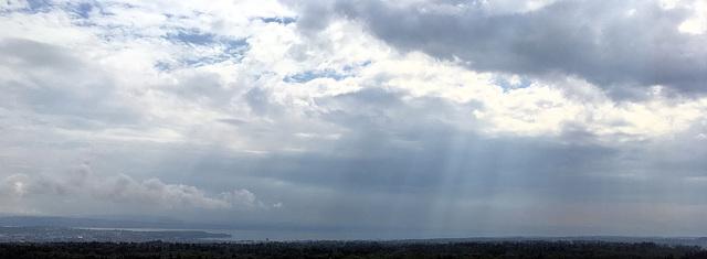 Obersee - nubes