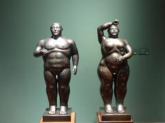 Pareja de Botero, Museo de Bogotá