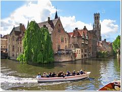 Rozenhoedkaai in Brugge