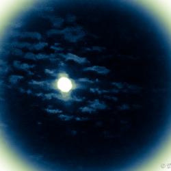 Lune de la nuit...