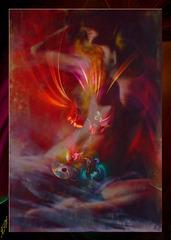 Soleils cruels ou complices, flamme dansante entre les orages et les éclaircies, une sorte d'errance sur des routes de nuit, tirées par les notes d'un violon oriental .....