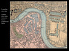 London - West India - Millwall & Surrey Docks map - c1884