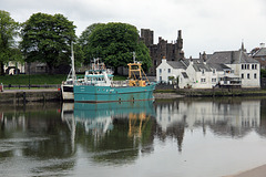 Kirkcudbright Harbour and MacLellan's  Castle