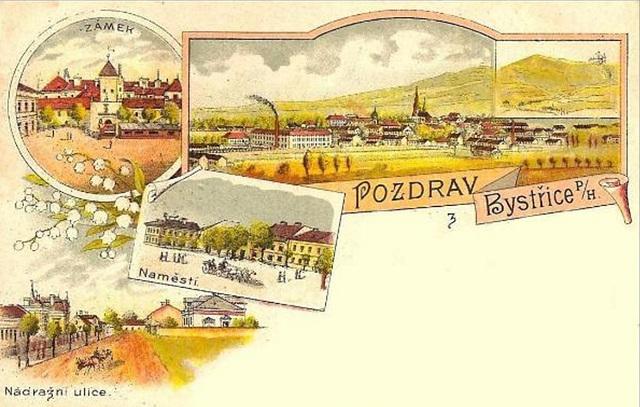 Bystřice pod Hostýnem (CZ) - loĝ- kaj agadurbo de la ĉeĥa Esperanto-nestoro Teodoro Čejka