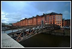 Por los canales de Hamburgo