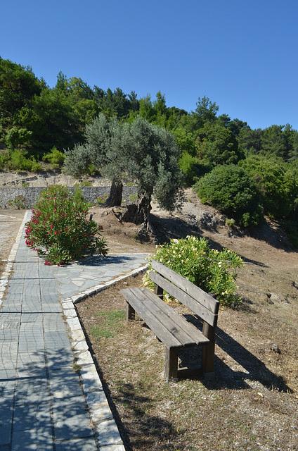 Rhodes, The Park near the Monastery of Kalopetras
