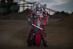 Cosplayer Sith Inquisitor