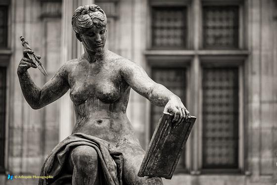 La statue La Science