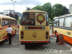 DSCF0537 Preserved Yelloway CDK 172L outside Rochdale Town Hall