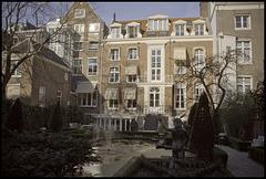 Keizersgracht back garden