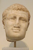 Portrait Head of the Emperor Titus from Smyrna in the National Archaeological Museum of Athens, May 2014