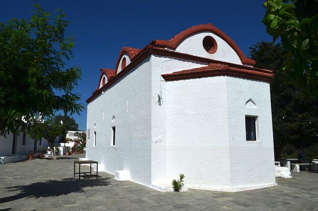 Rhodes, The Monastery of Kalopetras