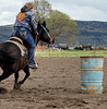 Barrel racing lesson