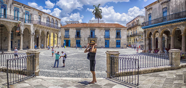 Havana Cathedral´s square