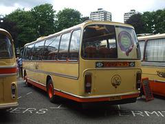 DSCF0542  Preserved Yelloway CDK 172L outside Rochdale Town Hall