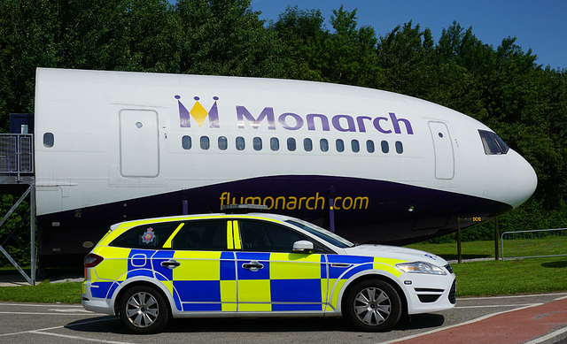 Greater Manchester Police Mondeo (1) - 11 July 2015