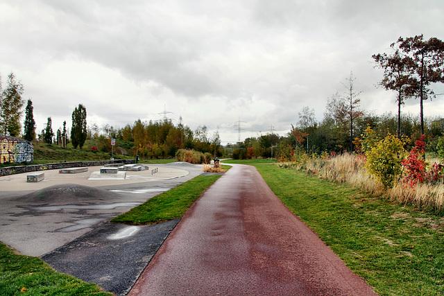 Krupp-Park (Essen-Westviertel) / 24.10.2018
