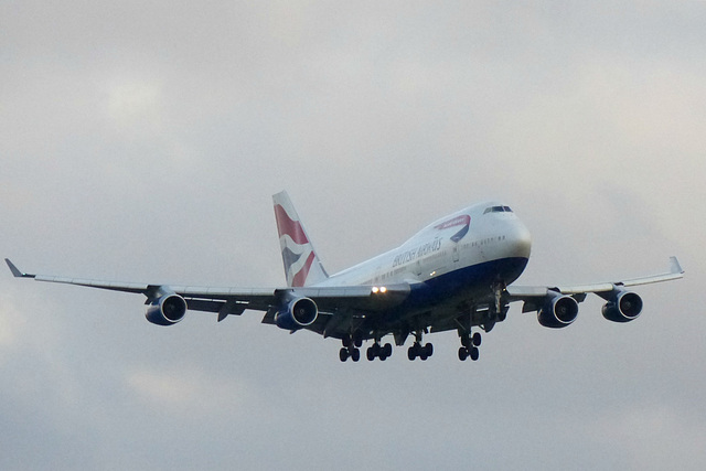 G-CIVA approaching Heathrow (1) - 23 January 2016