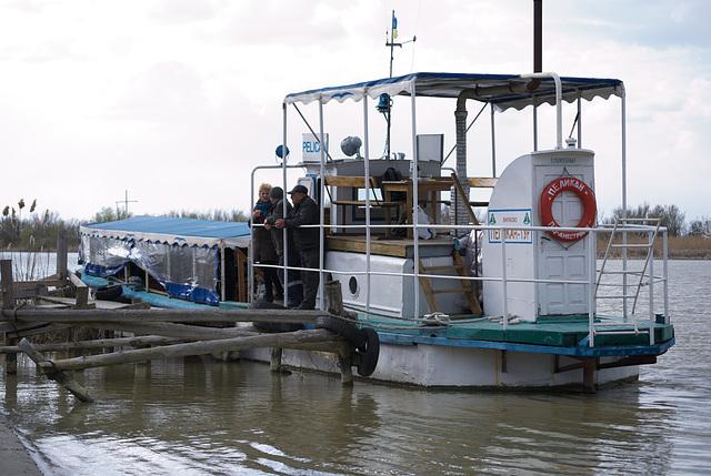 Der Ausflugsschiff »Pelikan«