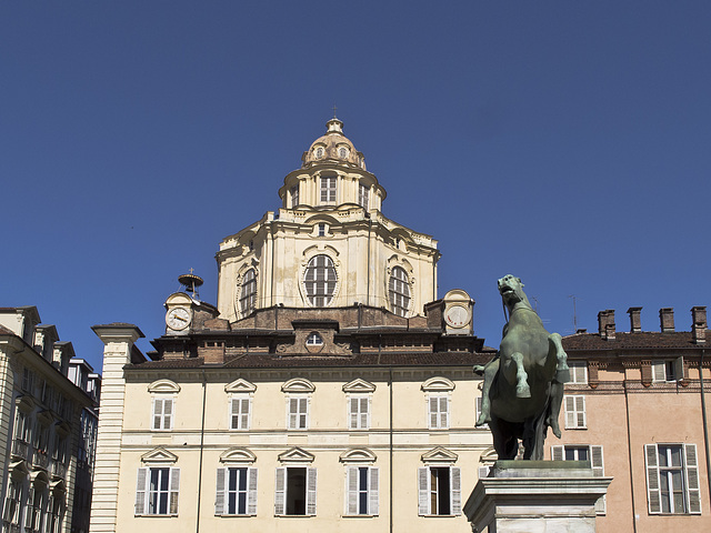 Turin, the Royal Church of St. Lawrence