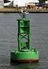 Green buoy at Norfolk, VA