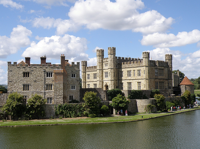 Leeds Castle, Rear View