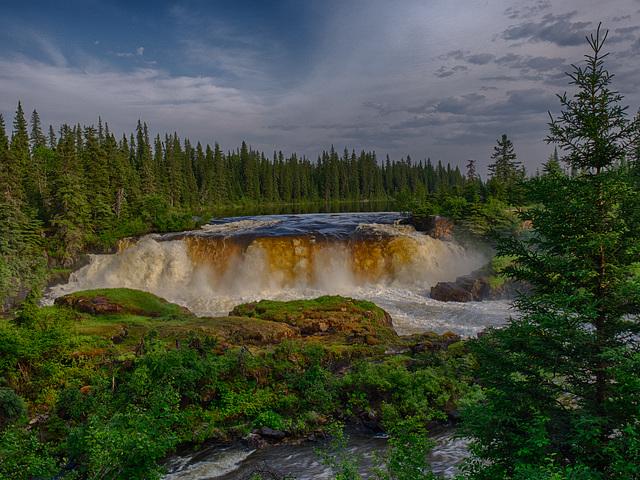Pisew Falls Manitoba-134 HDR