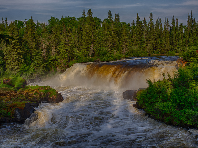 Pisew Falls Manitoba-191 HDR