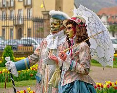 """""""Venetian Fairies"""" - Saverne, Alsace, France - 2017-04-16_732"""