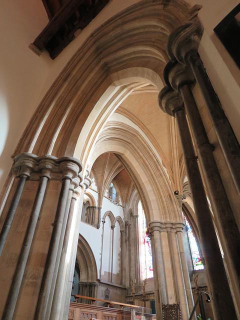 hythe church, kent, c13 chancel ,  (18)
