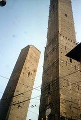 IT - Bologna - Torre Asinelli und Torre Garisenda