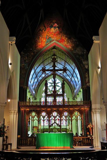 st paul's church, brighton, sussex