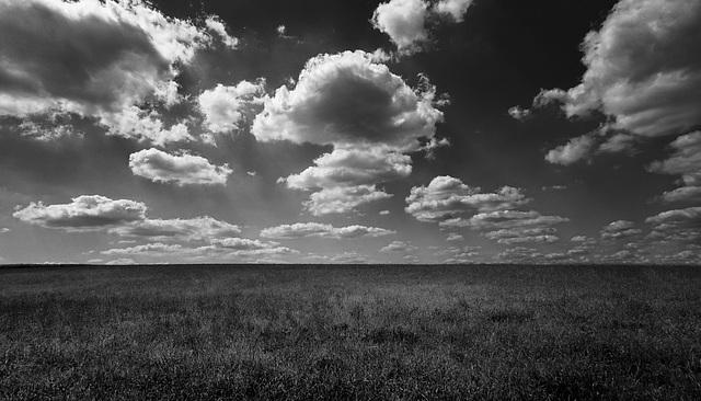 Wolken und Wind...