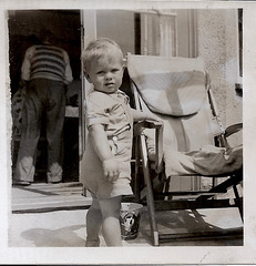 John, With Deck Chair