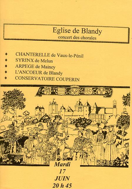 Blandy-les-Tours 17 juin 1997