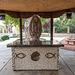 An outdoor altar