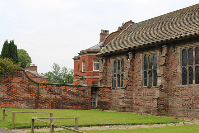 Tabley Hall and Church, Cheshire