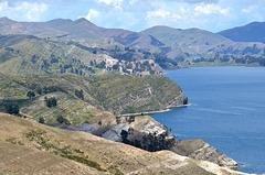 Bolivia, Titicaca Lake, The West Coast of the Island of the Sun