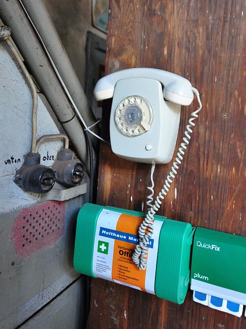 Eisenbahnmuseum Lokschuppen Aumühle 2015 – Telephone