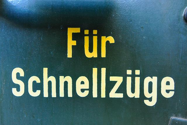 Eisenbahnmuseum Lokschuppen Aumühle 2015 – Für Schnellzüge
