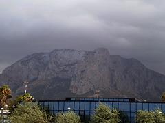 Rocky mounts of Sicily.