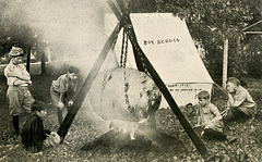 Boy Scout Campfire Cookery—Big Flavor from a Spectacular Spud