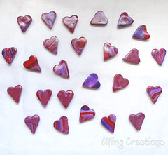 Heart Rune Stone Set (backs