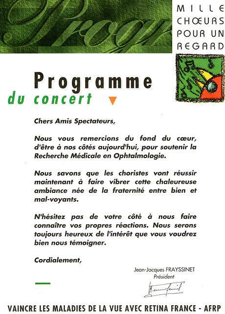 La Chapelle Gauthier 15 mars 1997