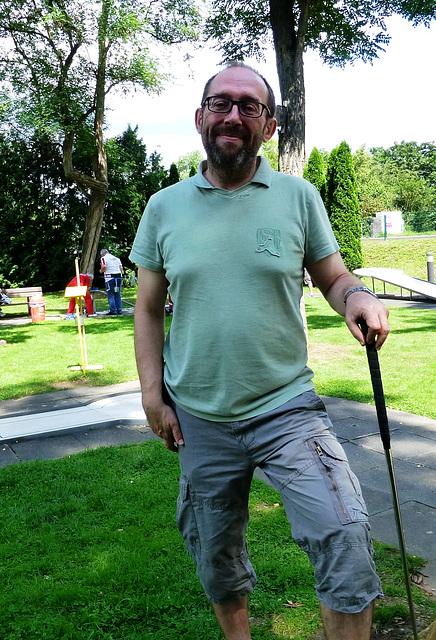 DE - Sinzig - me, at Bad Bodendorf Miniature Golf