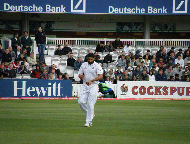 Monty Panesar at Lord's