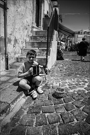 L'accordéoniste.